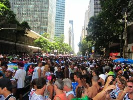 Carnaval in Rio - A pickpocket's wet dream.